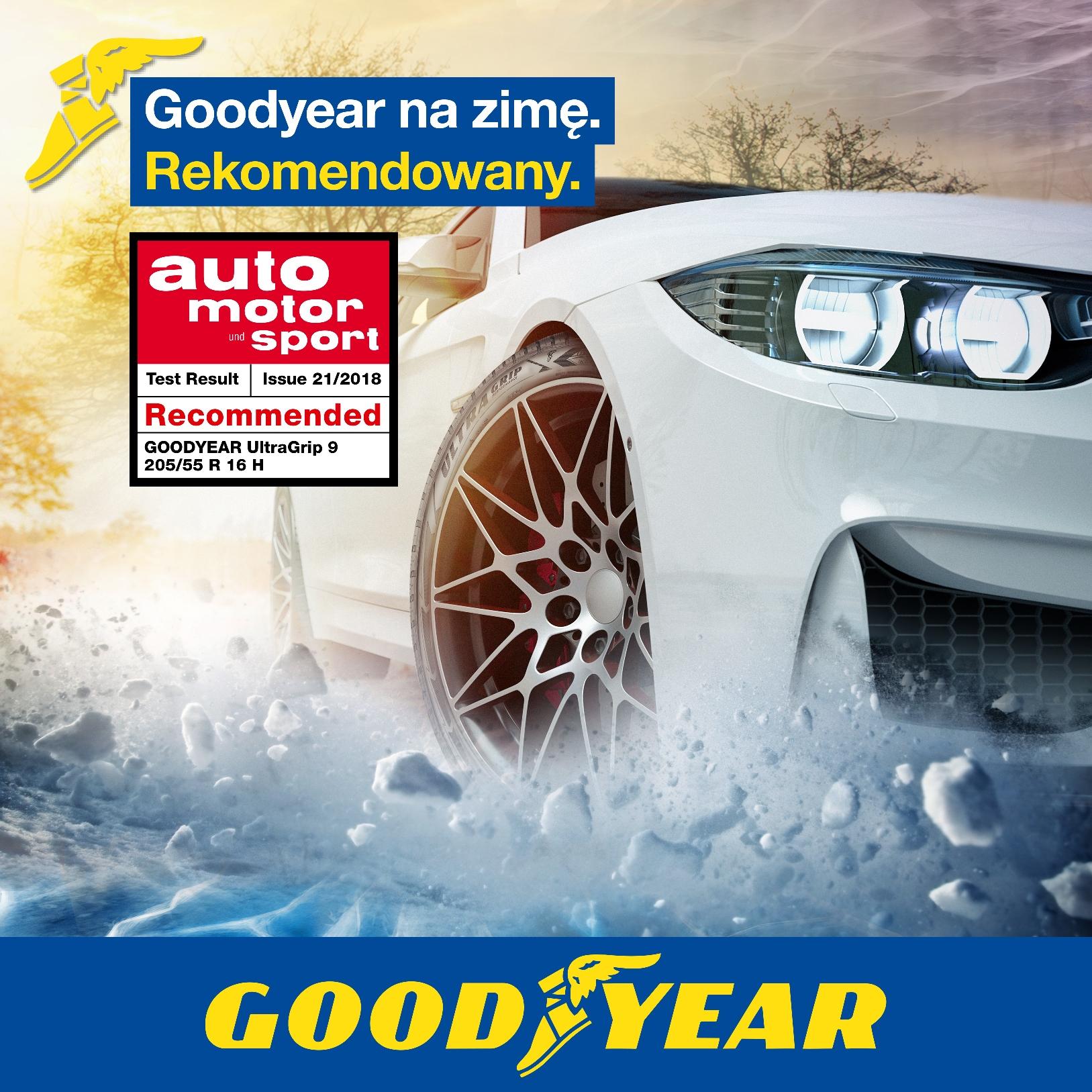 Opony Zimowe Goodyear Docenione W Niezależnych Testach Motofaktor