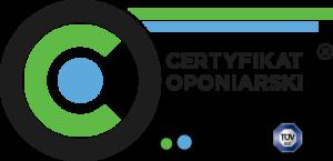 Certyfikat oponiarski logo