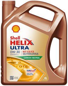 Shell Helix Ultra 0W – pierwszy neutralny emisyjnie olej silnikowy